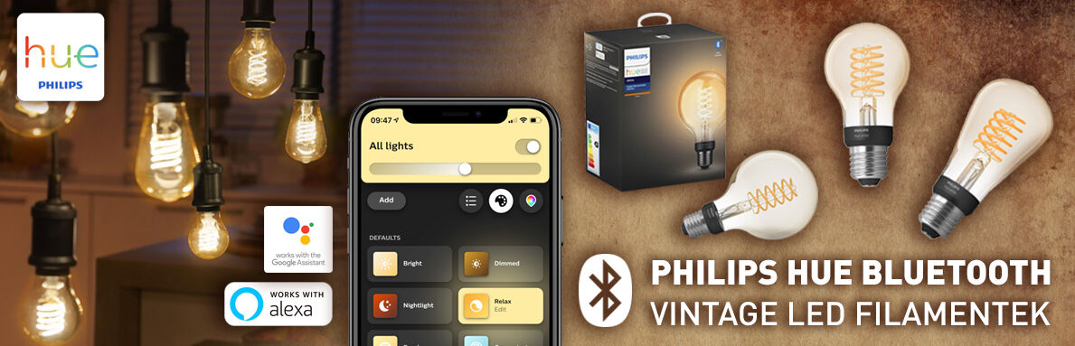 Philips Hue Bluetooth vintage filament