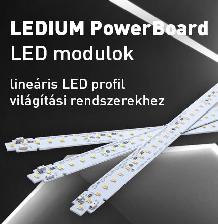 Ledium PowerBoard LED modulok