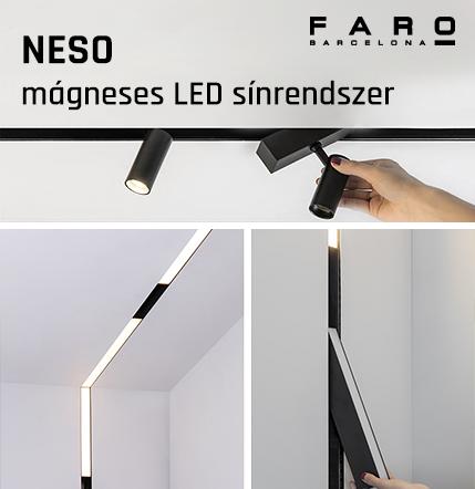 Faro Barcelona NESO mágneses LED sínrendszer