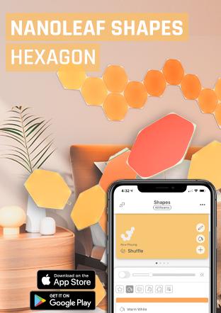 Nanoleaf Shapes Hexagon moduláris intelligens LED panelek