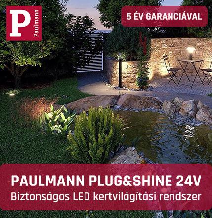 Paulmann Plug&Shine 24V kültéri LED világítási rendszer