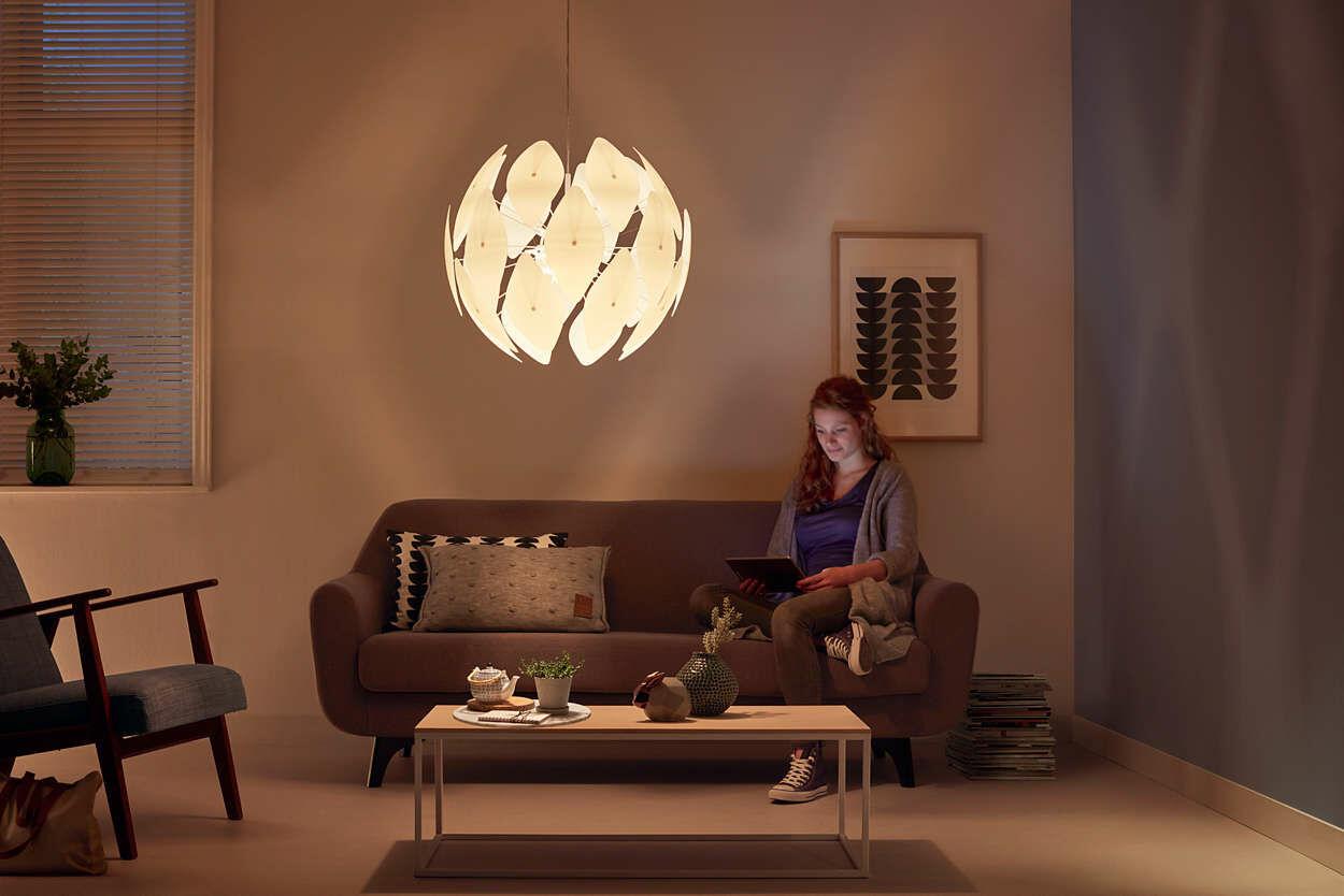 Philips Myliving Chiffon 80 cm csillár LED lámpa