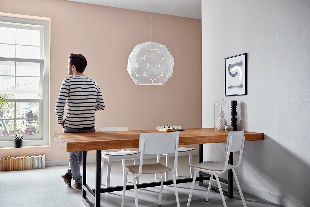 Philips Corkwood 52 cm lámpa E27 függeszték 4091421PN