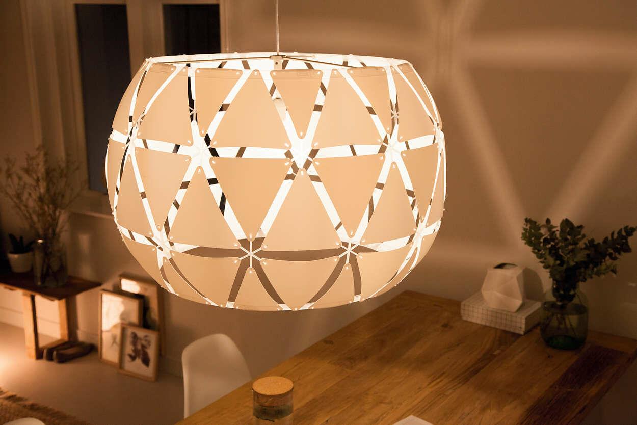 Philips Sandalwood 80 cm lámpa E27 függeszték 4091731PN