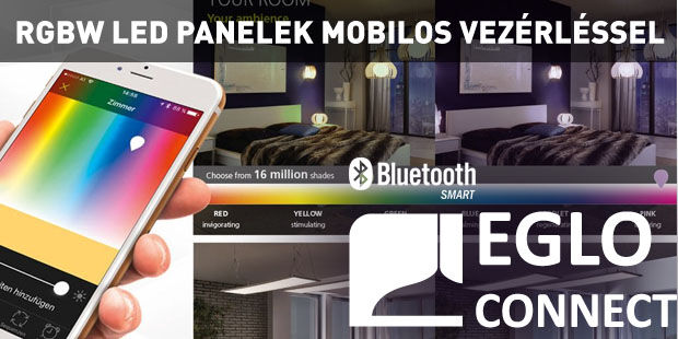 Eglo Connect Fueva-C Salobrena-C bluetooth rgb rgbw led