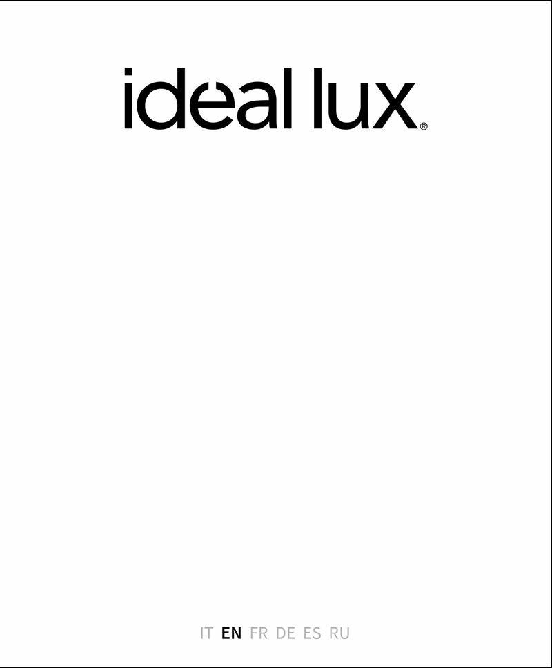 Ideal Lux katalógus 2020/2021