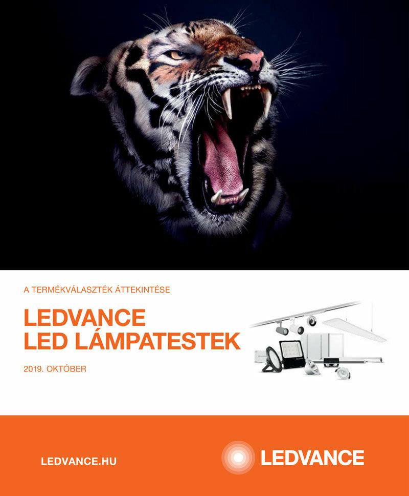 LEDVANCE LED lámpatestek katalógus 2019