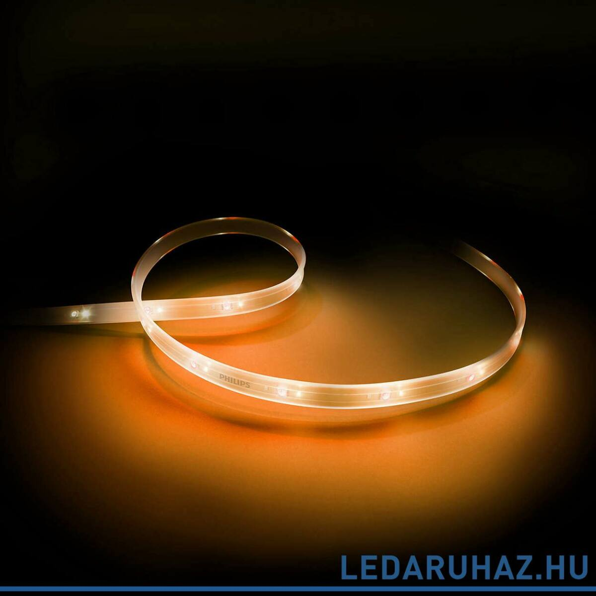 philips hue lightstrip plus led szalag 1m kieg sz t szakasz 7190255ph adapter n lk l. Black Bedroom Furniture Sets. Home Design Ideas