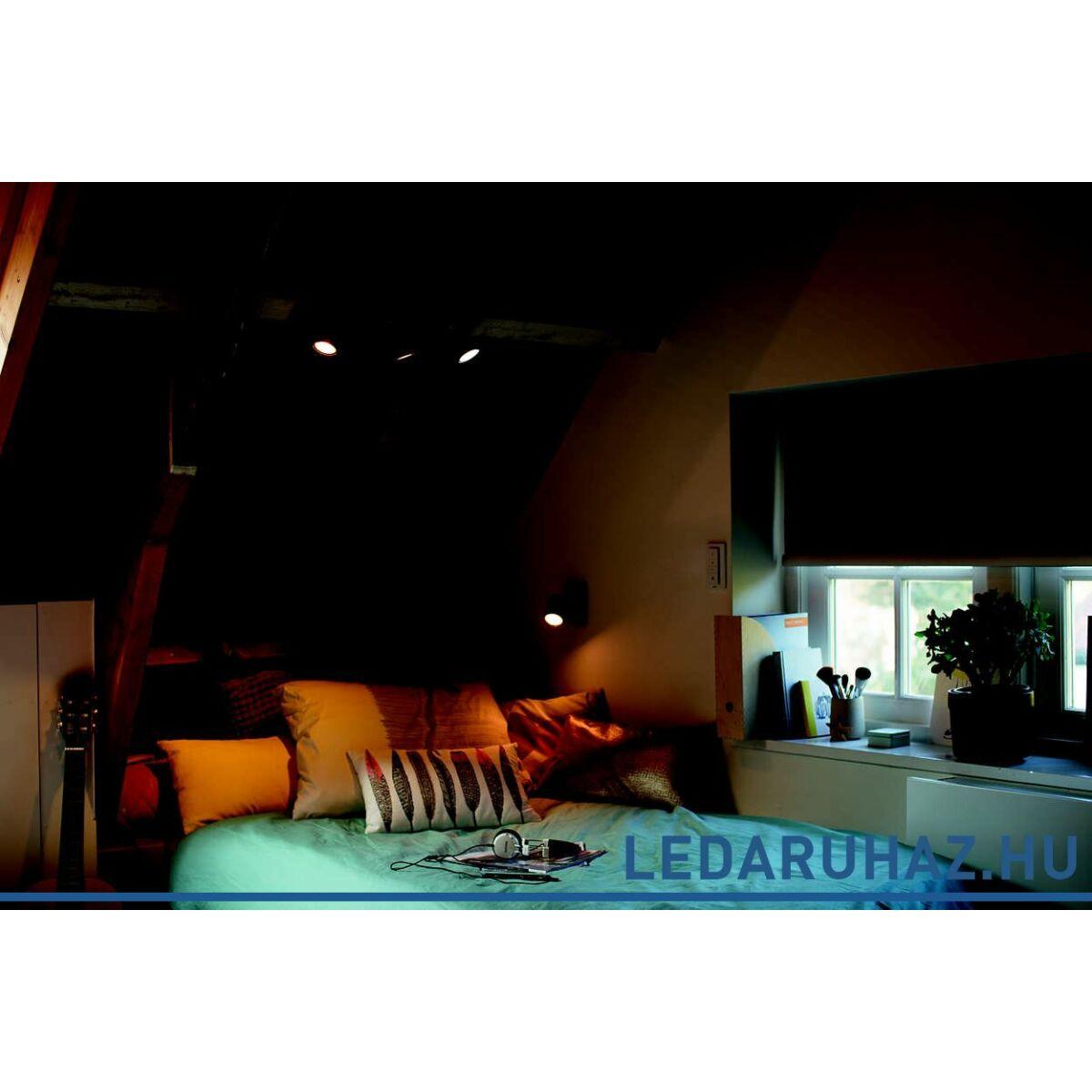 philips hue runner h rmas mennyezeti fekete led spot 2200k 6500k 3xgu10 dimswitch 53093 30 p7. Black Bedroom Furniture Sets. Home Design Ideas