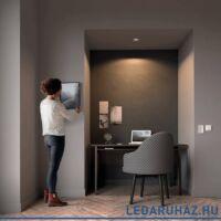 Philips Hue Milliskin süllyeszthető LED spotlámpa, szögletes, fehér, 5,5W, 250 lm@4000K, 2200K-6500K + DimSwitch, 50421/48/P8
