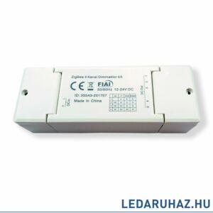 Zigbee 12-24V  1-4 csatornás univerzális LED vezérlő fehér, RGB, RGBW LED szalagokhoz,  Philips Hue rendszerhez