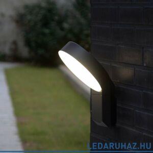 Lutec LED Meridian kültéri fali lámpa, 14W, 800 lm, 4000K természetes fehér, IP54 - 5616302118 - 6163S-3K gr