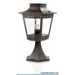 Philips Hedge kültéri álló lámpa, barna, E27 foglalat, 350 mm magas, 154028616