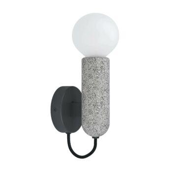 EGLO 39834 GIACONECCHIA fali lámpa, szürke, E27 foglalattal + ajándék LED fényforrás