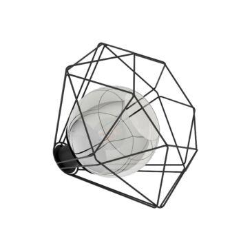EGLO 43484 VERNHAM asztali lámpa, kapcsolóval, fekete, E27 foglalattal, IP20