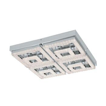 EGLO 95661 FRADELO mennyezeti lámpa, króm, 48W, 5000 lm, 3000K melegfehér, beépített LED, IP20