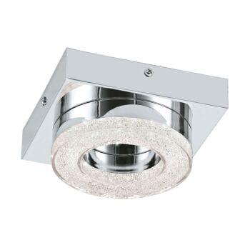 EGLO 95662 FRADELO fali/mennyezeti lámpa, króm, 1X4W, 400 lm, 3000K melegfehér, beépített LED, IP20