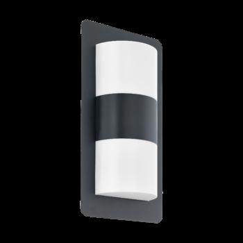 EGLO 98086 CISTIERNA kültéri fali lámpa, antracit, E27 foglalattal, IP44