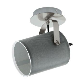 EGLO 98138 VILLABATE fali lámpa, szürke, E27 foglalattal, IP20