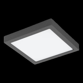 EGLO 98174 ARGOLIS-C kültéri fali lámpa, antracit, 22W, 2600 lm, 2700K-6500K szabályozható, fényerő szabályozható, beépített LED, IP44