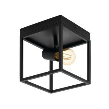 EGLO 98331 SILENTINA mennyezeti lámpa, fekete, E27 foglalattal, IP20