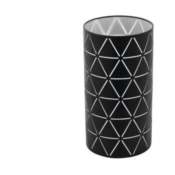 EGLO 98354 RAMON asztali lámpa, kapcsolóval, fekete, E27 foglalattal, IP20