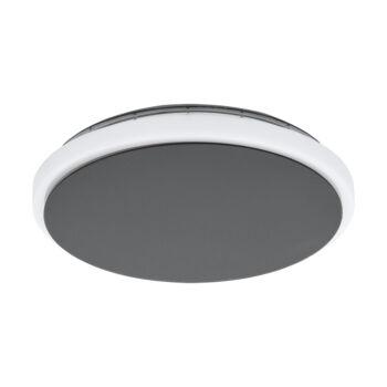 EGLO 98712 MONGODIO kültéri fali/mennyezeti lámpa, antracit, 11,5W, 1450 lm, 3000K melegfehér, beépített LED, IP44