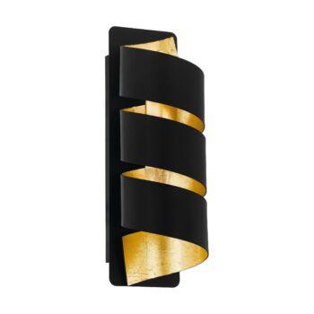 EGLO 98755 ELIZONDO fali lámpa, fekete, E14 foglalattal, IP20
