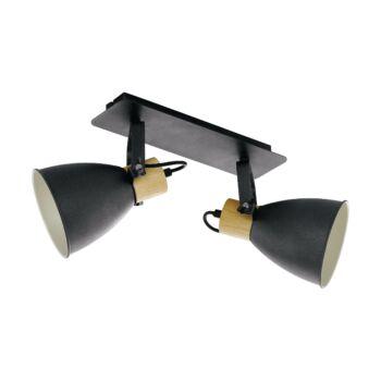 EGLO 99075 COSWARTH fali/mennyezeti lámpa, antracit, E27 foglalattal, IP20