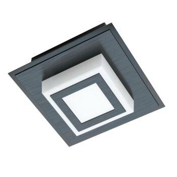 EGLO 99361 MASIANO 1 fali/mennyezeti lámpa, fekete, 1X3,3W, 340 lm, 3000K melegfehér, beépített LED, IP20
