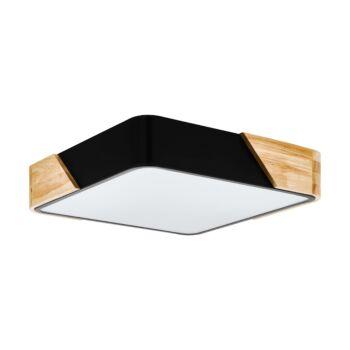 EGLO 99389 GRIMALDINO mennyezeti lámpa, fekete, E27 foglalattal + ajándék LED fényforrás