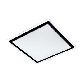 EGLO 99405 COMPETA 2 mennyezeti lámpa, fekete, 24W, 2600 lm, 3000K melegfehér, beépített LED, IP20