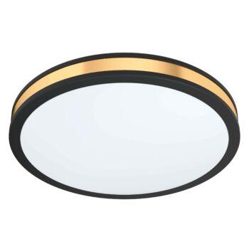 EGLO 99407 PESCAITO mennyezeti lámpa, fekete, 24W, 2400 lm, 3000K melegfehér, beépített LED, IP20