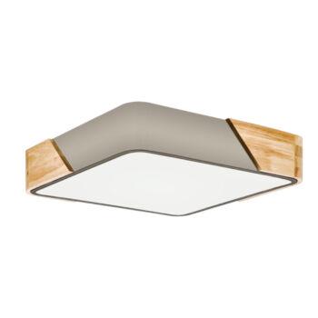 EGLO 99462 GRIMALDINO mennyezeti lámpa, szürke, E27 foglalattal + ajándék LED fényforrás