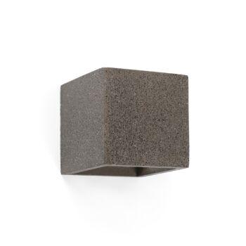 FARO KAMEN fali lámpa, beton, szürke, G9 foglalattal, IP20, 63312