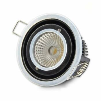 Vízálló IP65 süllyesztett LED spotlámpa 10W, 875 lm, 4000K természetes fehér, fényerőszabályozható