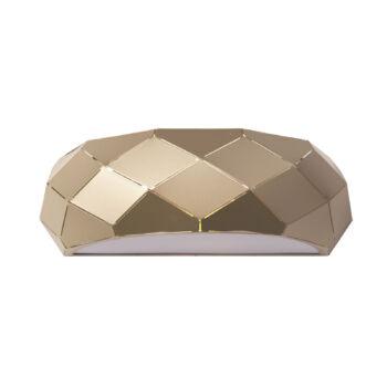 ITALUX HARLEY texturált burával fali lámpa arany, E27, IT-MBM-3480/1B GD