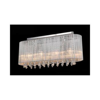 ITALUX ISLA mennyezeti lámpa 4 foglalattal, fehér, E14, IT-MXM1870-4 WH
