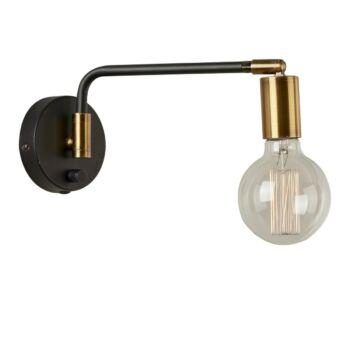 ITALUX IVETTE 1 ágú függeszték arany, E27, IT-MB-BR16164-W1-G/B