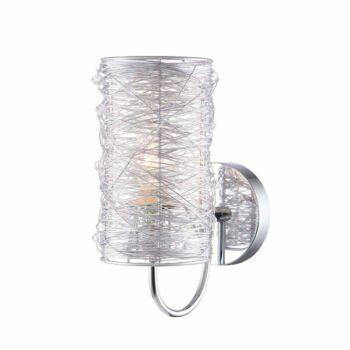 ITALUX LINTON fali lámpa ezüst, E14, IT-MBM2136/1