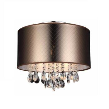ITALUX MOTAN mennyezeti lámpa 3 foglalattal, bronz, E14, IT-MXM2047/3