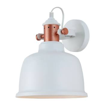 ITALUX TREPPO fali lámpa fehér, E27, IT-MBM-2987/1 W
