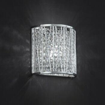 ITALUX VANESSA fali lámpa ezüst, G9, IT-W0282-01L-B5QL