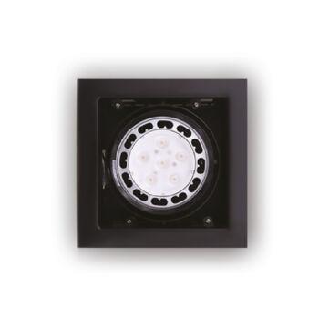 Maxlight MATRIX I beépíthető lámpa, fekete, AR111 foglalattal, 1x50W, MAXLIGHT-H0048
