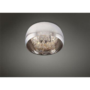 Maxlight MOONLIGHT mennyezeti lámpa, króm, 6 db G9 foglalattal, 6x40W, MAXLIGHT-C0076-06X