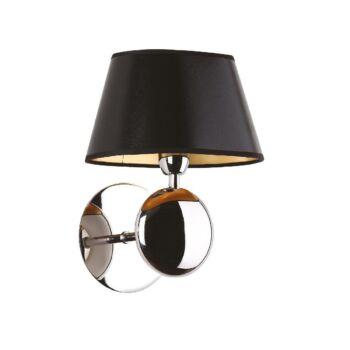 Maxlight NAPOLEON fali lámpa, króm, E14 foglalattal, 1x40W, MAXLIGHT-W0120