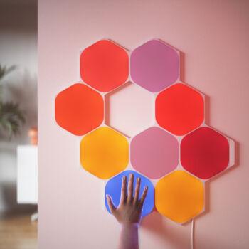 Nanoleaf Shapes Hexagon 5 paneles mini kezdőszett