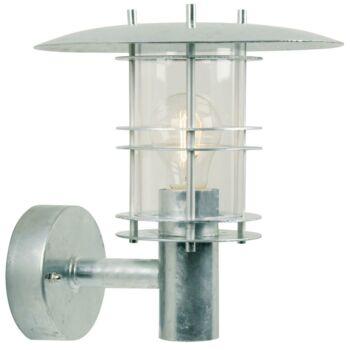 NORDLUX Fredensborg kültéri fali lámpa, szürke, E27, max. 60W, 24cm átmérő, 10610119