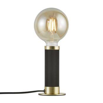 NORDLUX Galloway asztali lámpa, fekete, E27, max. 40W, 5.5cm átmérő, 2011075003