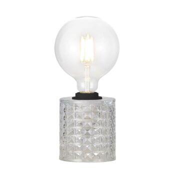 NORDLUX Hollywood asztali lámpa, üveg, E27, max. 60W, 46645000